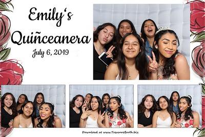 Emily's Quinceañera 2019