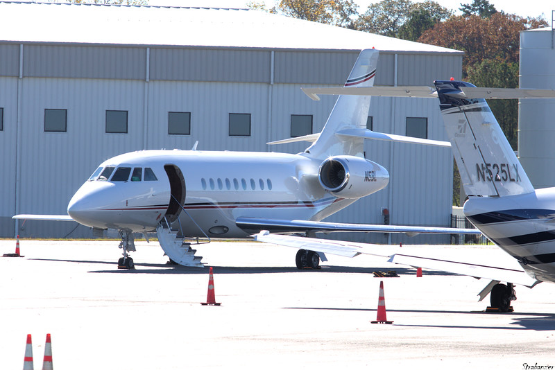 Dassault Falcon 2000 Air c/n  176  N5BL BLM AVIATION LLC  DOVER , DE, US Dekalb Peachtree (KPDK), Ga, 11/16/2020, Having arrived from Charleston Intl KCHS  This work is licensed under a Creative Commons Attribution- NonCommercial 4.0 International License.