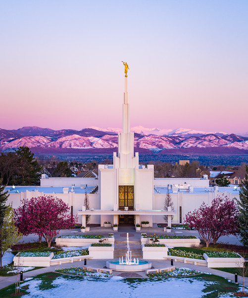 Denver Temple - Mountain of the lord
