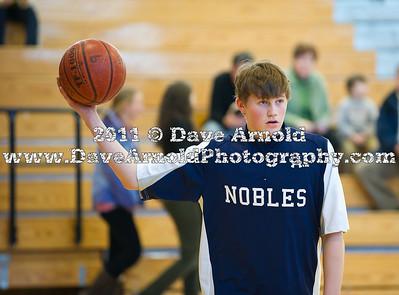 2/9/2011 - Boys Varsity Basketball - Groton vs Nobles