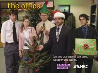 the office christmas party wallpaper