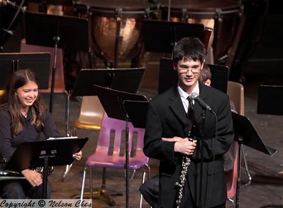 """2008-05-06 BHS Spring Band Concert (SB3) - """"Four Players and One Musician"""""""
