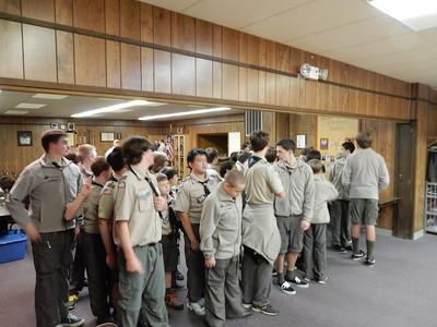 Troop Meeting - Oct 27
