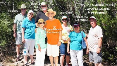 July 2015 RV Trip to Austin