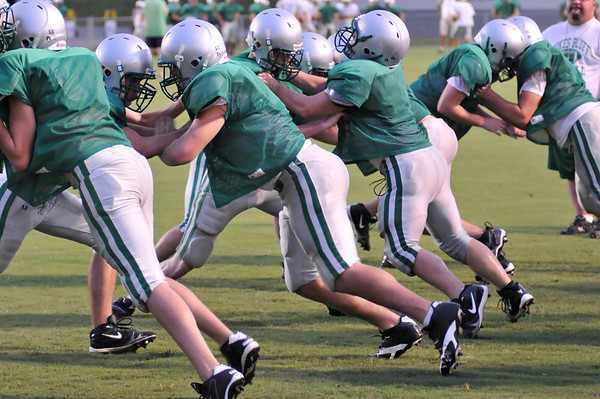Practice Under the Lights - August 14, 2009