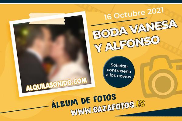 BODA VANESA Y ALFONSO - 16 OCTUBRE 2021