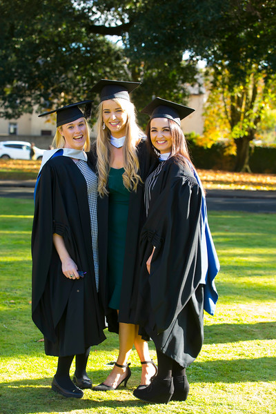 01/11/2018. Waterford Institute of Technology (WIT) Conferring Ceremonies 2018. Pictured are Joanne O'Grady Ballymaccarby, Lisa Walsh Limerick and Mary Ellen Finn Cork. Picture: Patrick Browne