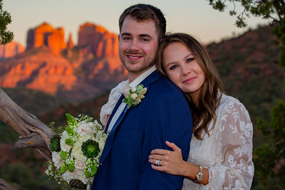 Natalie & Thomas's Sedona Wedding