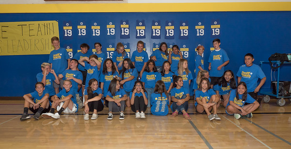 180813 CHRISTENSEN MIDDLE SCHOOL LEADERSHIP CLASS