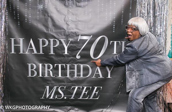 Ms Tee 70th Birthday
