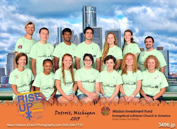 Rise UP! 2015 ELCA Youth Gathering