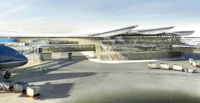 Long Thanh Airport render