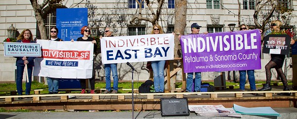 Dec 4 Indivisible San Francisco Tax Protest