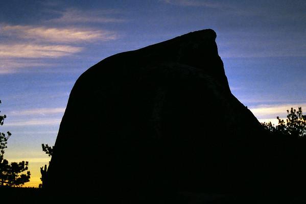 Half Dome Ascent I, January 2001