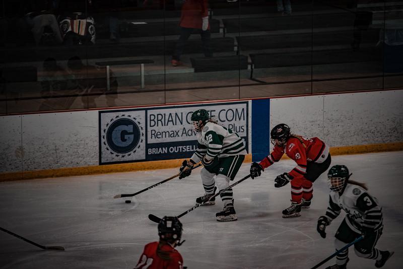 Holy Family Girls Varsity Hockey vs. Mound Westonka, 12/10/19: Olivia Paidosh '23 (22)
