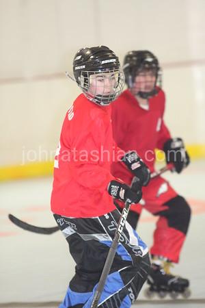 Roller Hockey - Devils vs Rangers - Youth Division Division