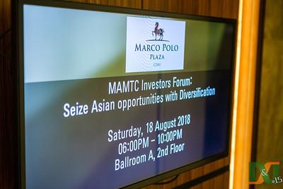 MAMTC Investor's Forum - Seize Asian Opportunities