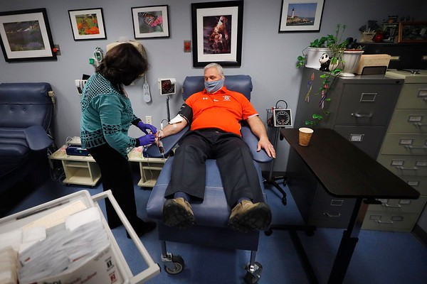 Sheriff Bowler donates plasma to help fight COVID-19-050120