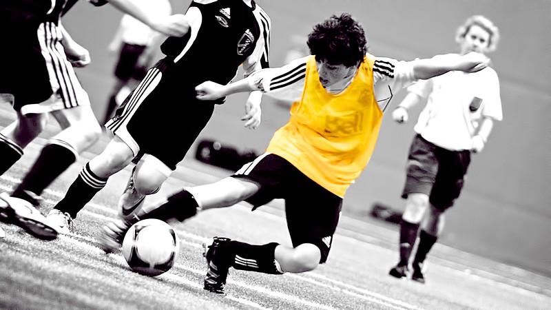 2012 Diables Rouges 1er Match à 11