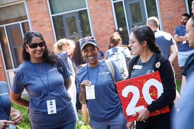 Bain Capital Shared Services Service Event 2019 - City Year Boston