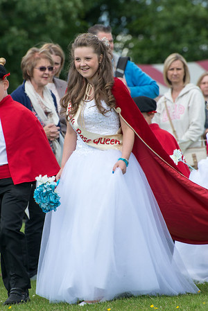 Thelwall Rose Queen 2013