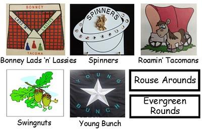 """Rainier Council """"CLUBS"""" folder"""