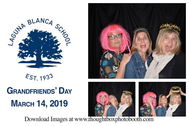 Laguna Blanca School Grandfriend's Day March 14, 2019