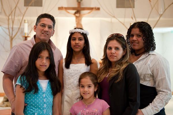 Mejia First Communion