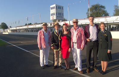 Our UK family at Goodwood