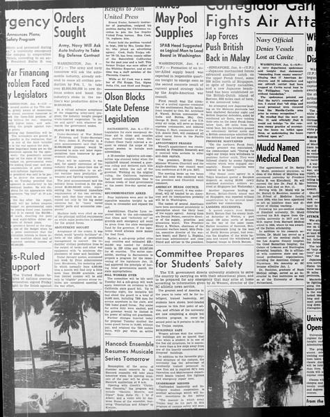 Daily Trojan, Vol. 33, No. 60, December 13, 1941