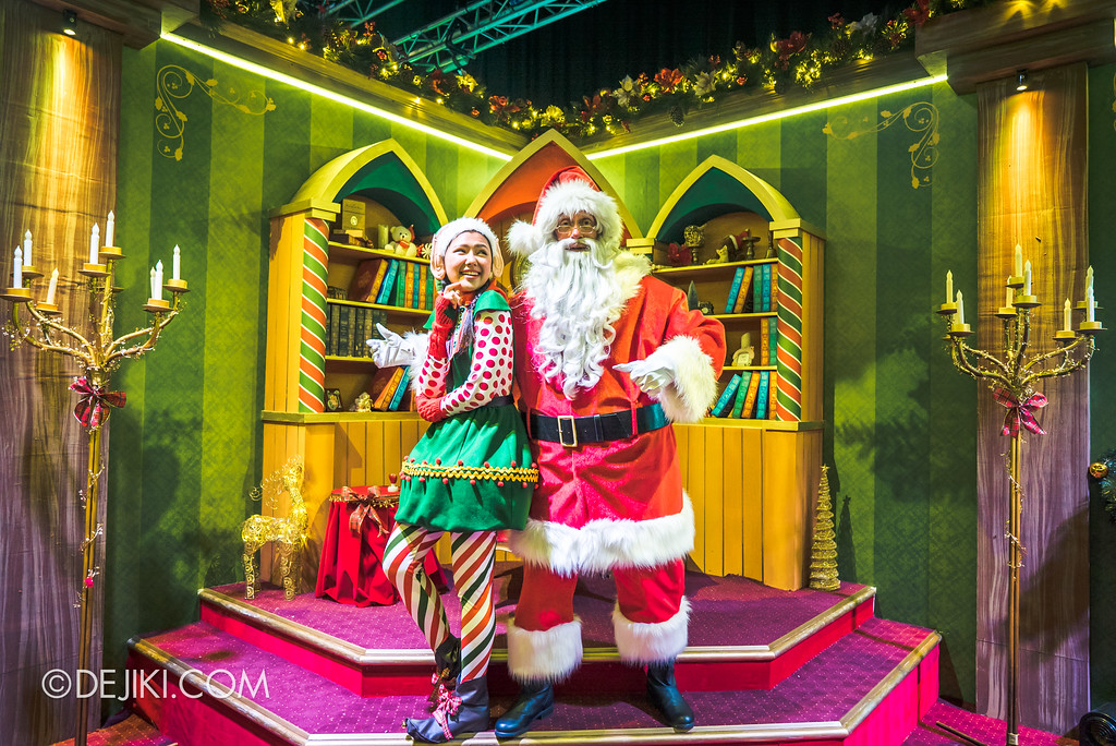 Universal Studios Singapore - A Universal Christmas event 2017 / Santa's Workshop Final Room