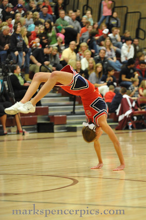 Cheerleaders Basketball 2009-10