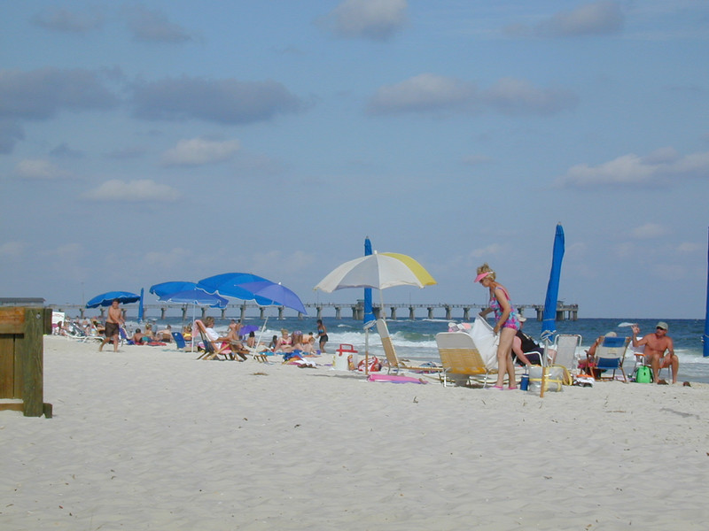 The Beach at Gulf Shores, Alabama