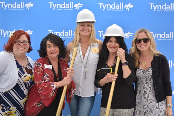 Tyndall FCU 23rd St Ground Breaking