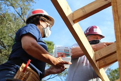 Construction Volunteers: 3-13-2021