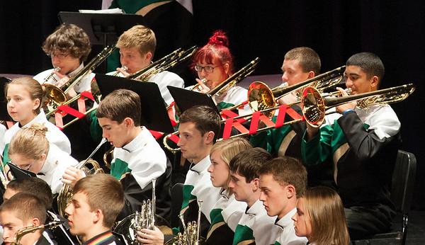 2013-12-19: Christmas Band Concert