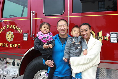 Residents Help New Fire Engine Move In
