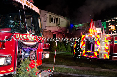 Uniondale F.D. House Fire 867 Smith St. 12-15-14