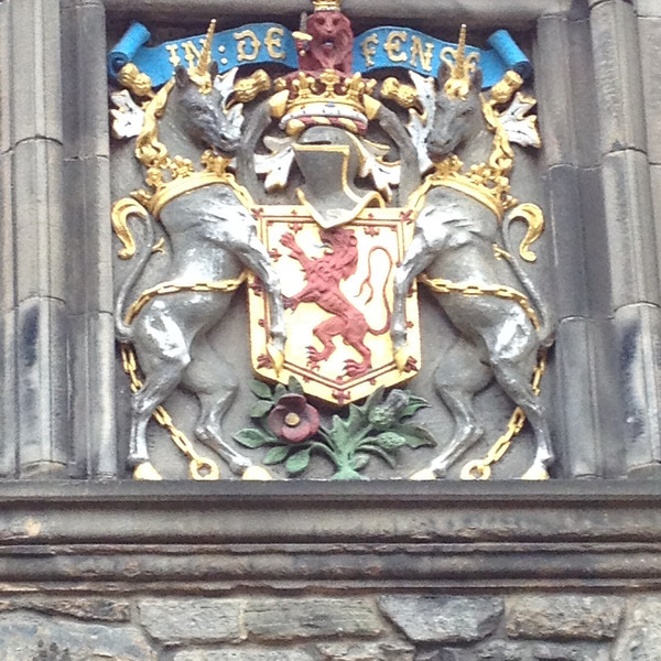 The royal crest