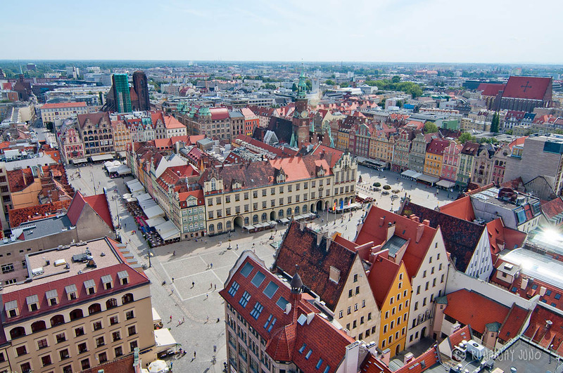 Wroclaw view