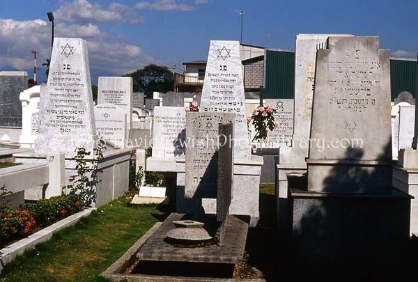 COSTA RICA, San Jose. Cementerio de Centro Israelita. (2008)