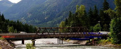 The Famous Movie Bridge { Hope BC } the last days