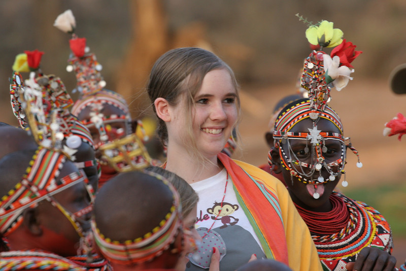 Audrey with Samburu Girls at Goat Ceremony RCC 242.jpg