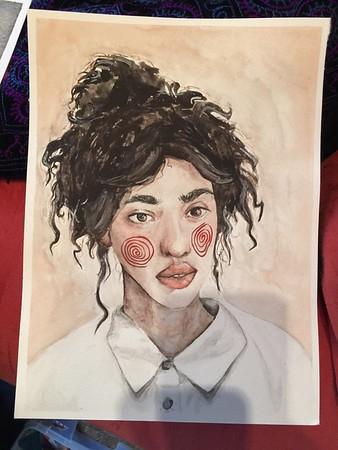 Marina's artwork