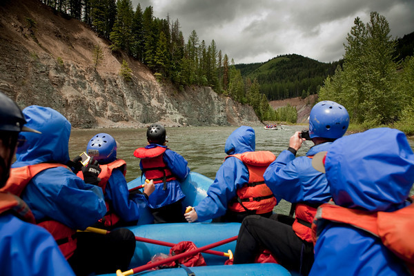Middle Fork of the Flathead  River Trip