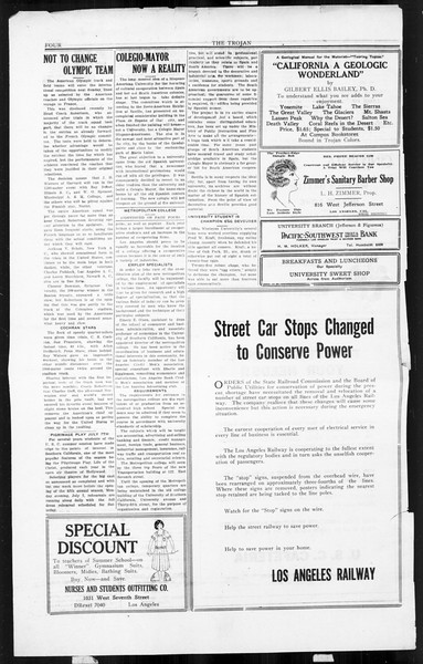 The Southern California Trojan, Vol. 3, No. 1, July 01, 1924