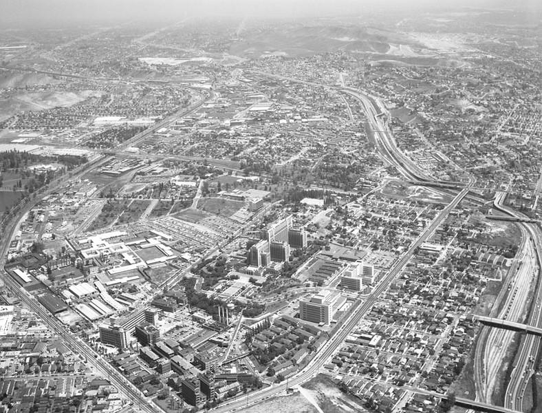 1957, Area Aerial