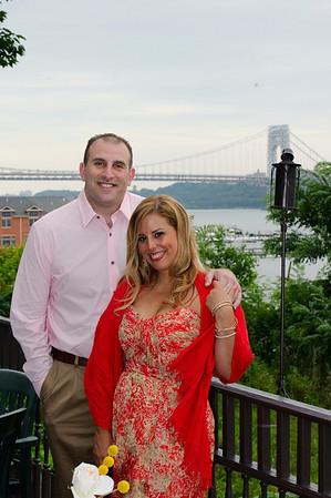 Melissa + Chris Engagement Party