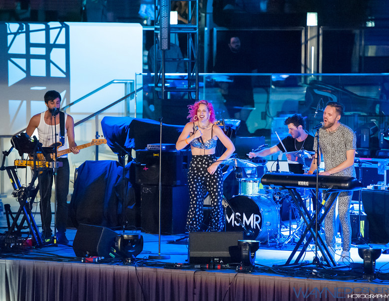 MS MR performs on the Mophie Stage at The Cosmopolitan in Las Vegas, NV on Apr 17, 2014