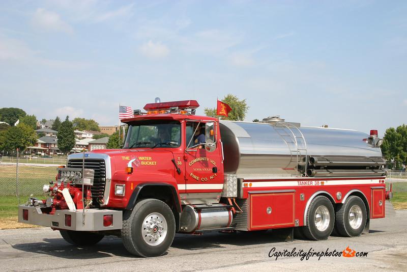 Yorkana Tanker 38: 1996 Ford/1980 4 Guys 1000/3000